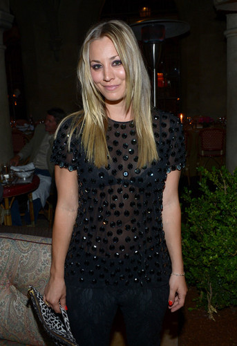 Kaley Cuoco @ the Naaem Khan Private Dinner - kaley-cuoco Photo