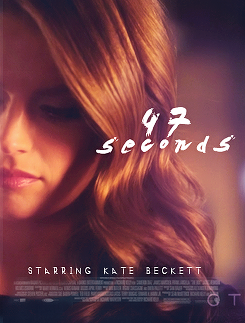 Kate Beckett karatasi la kupamba ukuta with a portrait entitled Kate <3