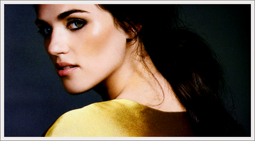 Katie McGrath wallpaper containing a portrait entitled Katie xxx