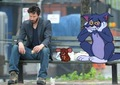 Keanu with Tom&Jerry