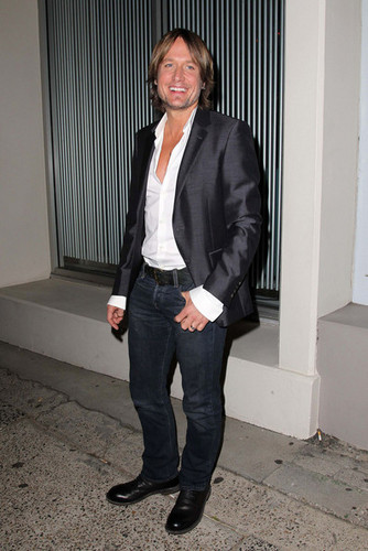 """Keith at launch party for """"The Voice"""" Australia"""