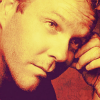 24 photo probably with a portrait entitled Kiefer Sutherland