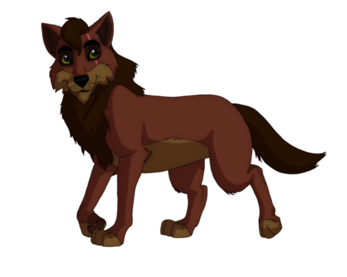 Kovu as a loup