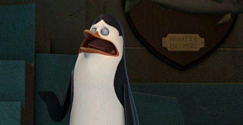 Penguins of Madagascar wallpaper titled Kowalski crying