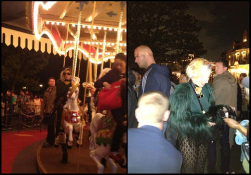 Lady Gaga at Disneyland in Tokyo, Japan.  - lady-gaga Photo