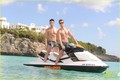 Lance Bass: Shirtless Birthday in St. Martin