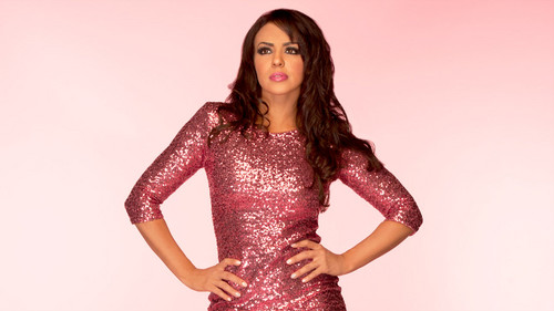 WWE LAYLA پیپر وال possibly with a کاک, کاکٹیل dress called Layla