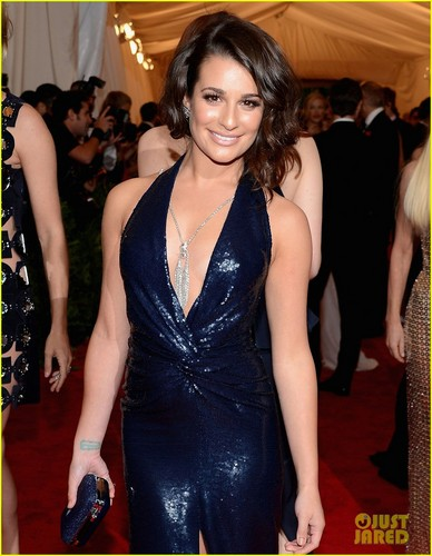 Lea Michele - Met Ball 2012 - lea-michele Photo