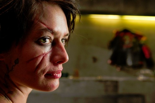 "Lena Headey as Madeline ""Ma-Ma"" Madrigal in Dredd"