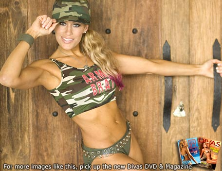 Lilian Garcia wallpaper with a bikini entitled Lilian Garcia Photoshoot Flashback