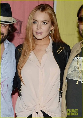 Lindsay Lohan: 'Life is a Dream' with Vikram Chatwal! - lindsay-lohan Photo
