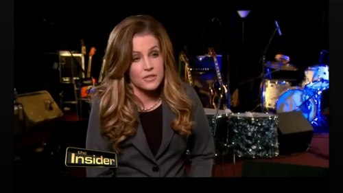 Lisa Marie Presley on The Insider (May 2012)