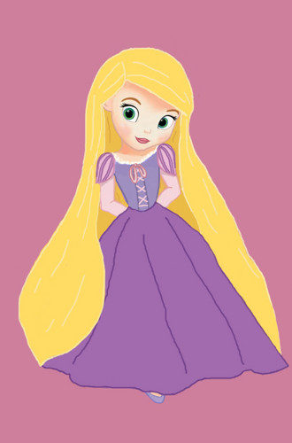 Disney Leading Ladies wallpaper entitled Little Disney Princess
