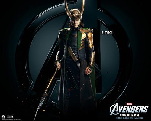 The Avengers wallpaper titled Loki