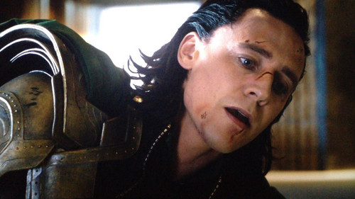 Loki (Thor 2011) wallpaper possibly containing an iron called Loki versus hulk screenshot