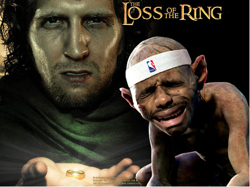 Loss of The rings