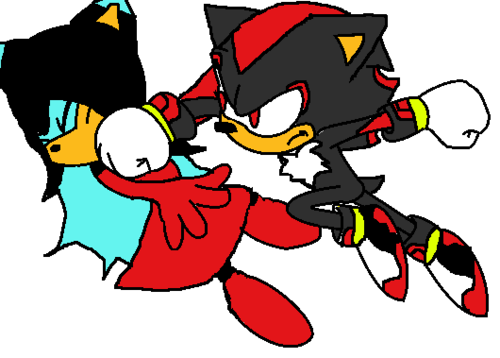 Lune vs shadow (but Lune got hit)