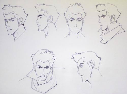 Mako head sketches