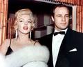 Marilyn Monroe and Marlon Brando
