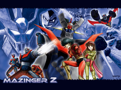 Anime Hintergrund containing Anime titled Mazinger Z