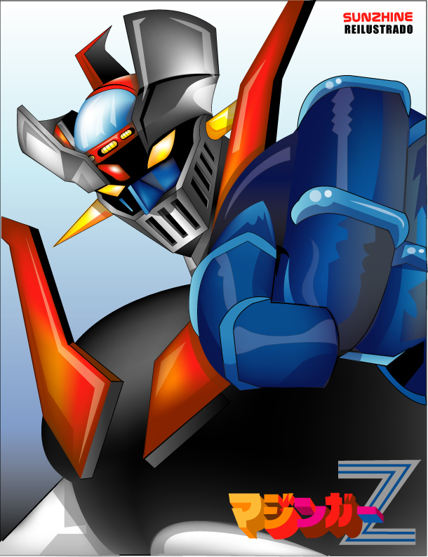Pictured: Mazinger Z