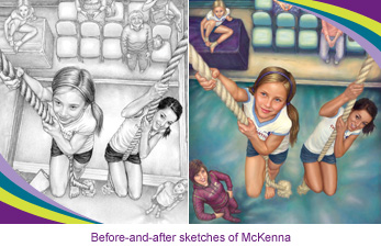 McKenna original drawing