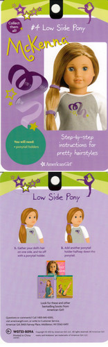 American Girl Dolls wallpaper entitled McKenna's hair styles