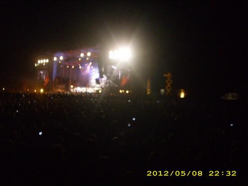 মেটালিকা live Belgrade 2012