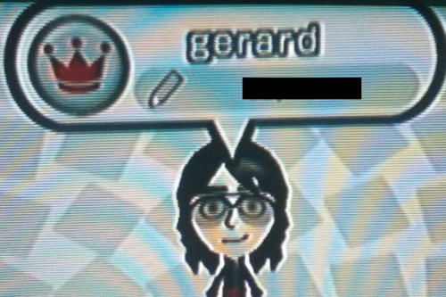 Mii's ~ Gerard Way - decodingromance Photo