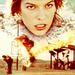 Milla in Resident Evil: Extinction
