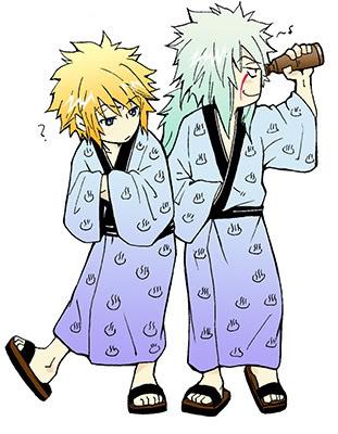 Minato & Jiraiya x3