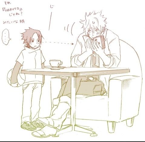 Minato & Sasuke x3