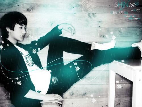 Minho Yuri (Minyul Couple) wallpaper possibly with tights and a leotard entitled Minyul - Together