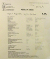 Misha Collins' Resume