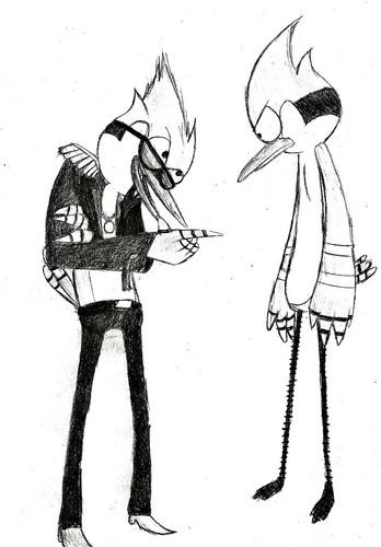 Mordecai and Mordecai (rock star)