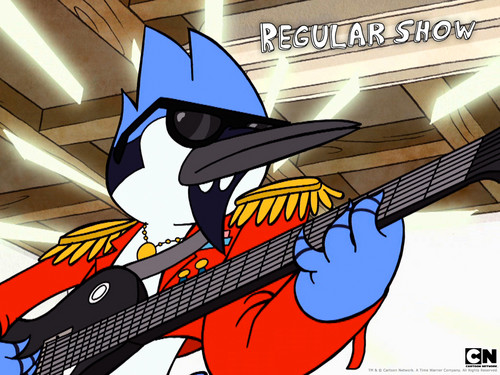 Mordecai - regular-show Wallpaper