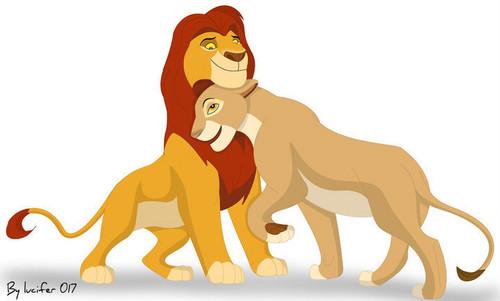 Hevenly pack/pride wallpaper called Mufasa and Sarabi