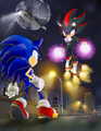 Multy shadow :D - shadow-the-hedgehog photo