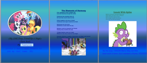 My Poem Book Pages 1-3