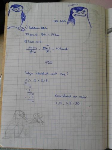 My math exercice book X3