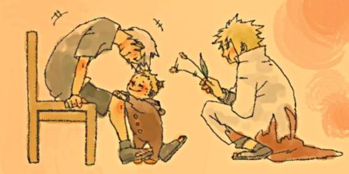 Namikaze Family x3