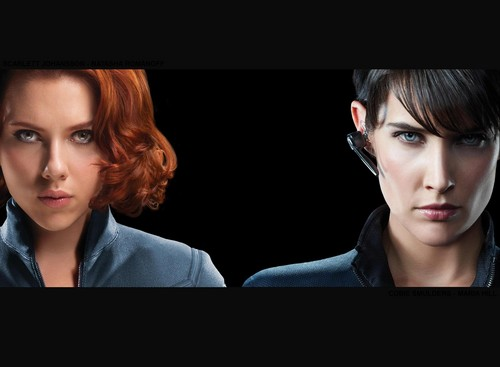 Natasha Romanoff and Maria colline