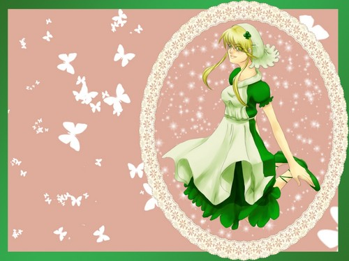 Shugo Chara wallpaper probably with a bouquet entitled Neko of Misfortune