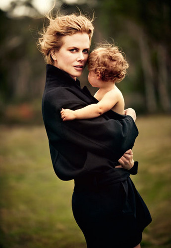 Nicole Kidman - Harper's Bazaar Australia photoshoot with Faith