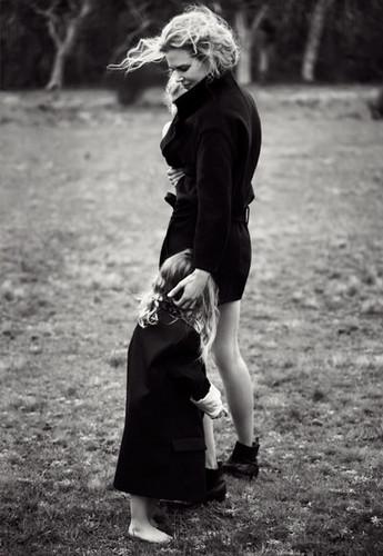 Nicole Kidman - Harper's Bazaar Australia photoshoot with Faith and Sunday
