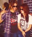 Nikki and Kristen