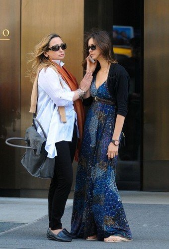 Nina Dobrev Out With Her Mother