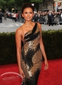 Nina Dobrev attends Costume Institute Gala at the Metropolitan Museum of Art on May 7, 2012
