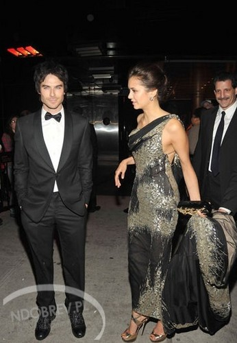 Nina Leaving the MET Gala - nina-dobrev Photo