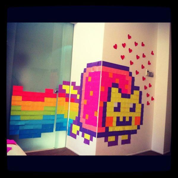 Nyan Cat Sticky Note Time 2